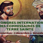 Le IVe Congrès International des Commissaires de Terre Sainte approche
