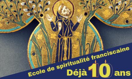 Les 10 ans de l'Ecole de Spiritualité Franciscaine de Toulouse