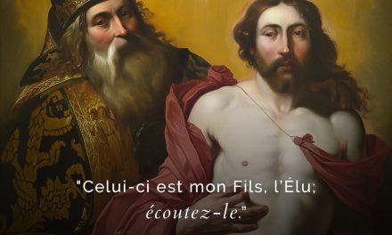 """Transfiguration/défiguration"" – Fr. Nicolas Morin"