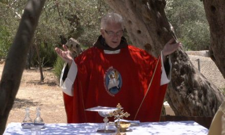 Fr. Dominique Joly, directeur des Pèlerinages franciscains