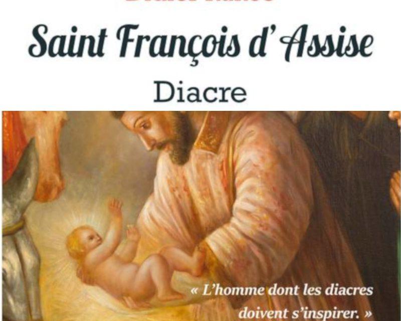 Didier Rance publie : François d'Assise, diacre