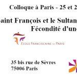 Colloque Saint François et le Sultan