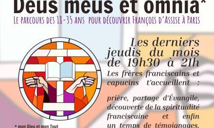 Un nouveau parcours pour découvrir saint François sur Paris