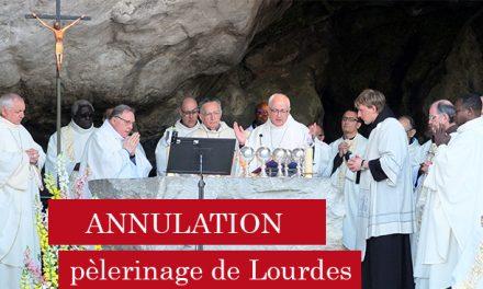 Le pèlerinage franciscain de Lourdes annulé