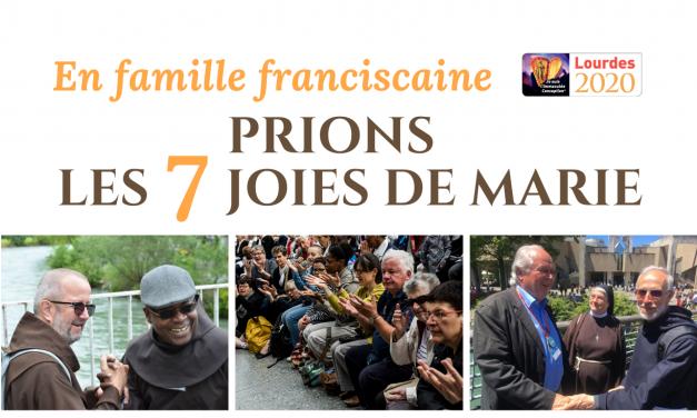18- 24 mai : Semaine de prière à Marie en famille Franciscaine