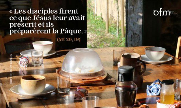 Mercredi Saint : Branchons-nous sur Dieu dans l'action de grâces