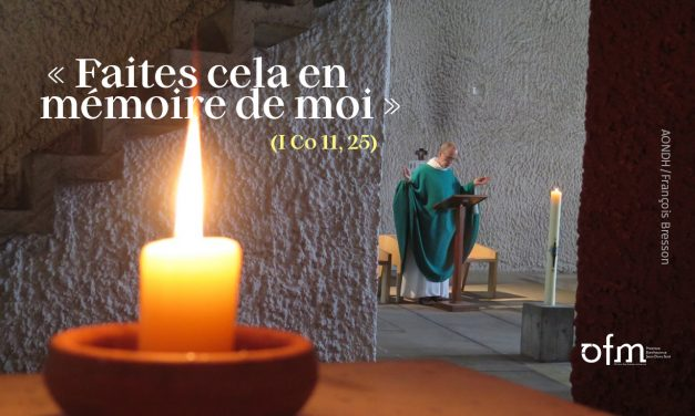 Jeudi Saint : L'Eucharistie ou l'école du christ