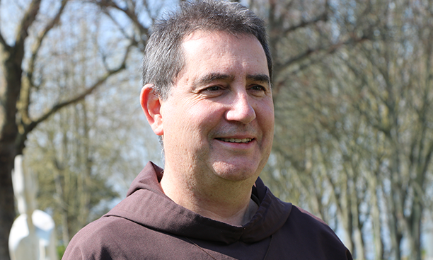 Fr. Gilles, aumônier d'hopital
