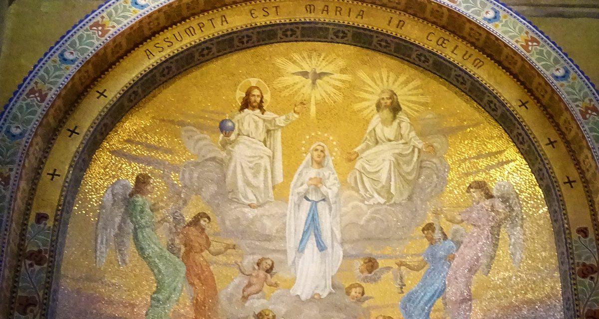 """7ème joie de Marie : """"Le Temple qui est dans le ciel s'ouvrit"""""""