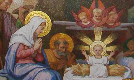 """3ème joie de Marie : """"elle l'emmaillota et le coucha dans une mangeoire"""""""