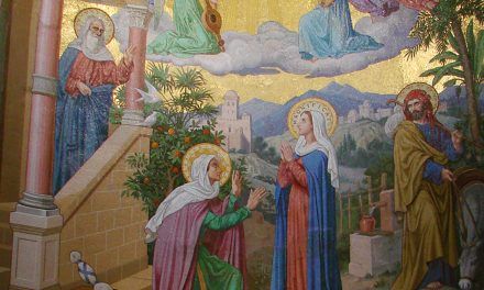 """2ème joie de Marie : """"que la mère de mon Seigneur vienne jusqu'à moi"""""""