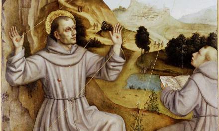 Les stigmates de saint françois