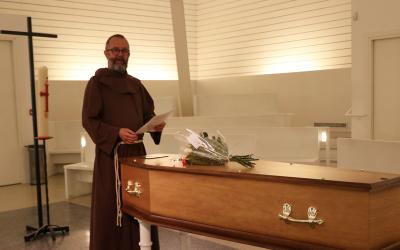 Fr. Christian, aumônier au crématorium